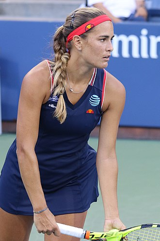 Monica Puig - Puig at the 2016 US Open