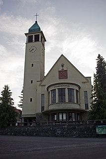 Pukanec Village in Slovakia