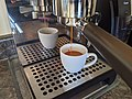 Pulling a triple espresso shot with a naked portafilter.jpg