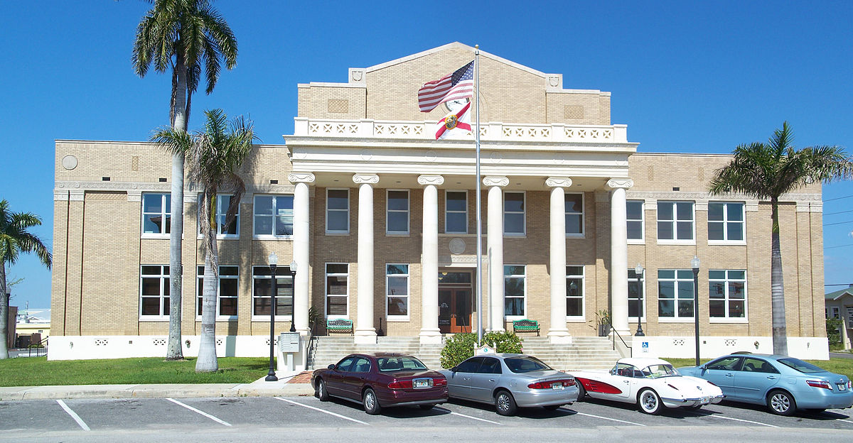 Old Charlotte County Courthouse.  Punta Gorda, Florida