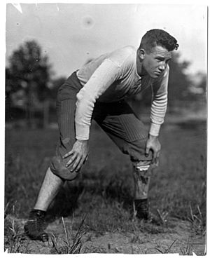1916 College Football All-Southern Team - Pup Phillips of Georgia Tech was his school's first center selected All-Southern.