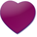 Purple heart icon.png