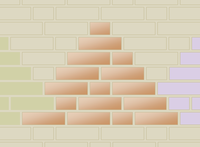 Piramidoj elstarigita.