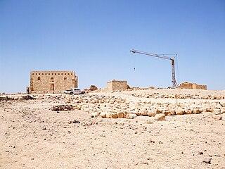 Qasr Al-Hallabat Place in Zarqa Governorate, Jordan