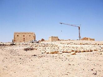 Qasr Al-Hallabat - Image: Qasr Al Hallbat complex