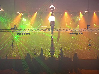 Hardstyle - The balcony view of Qlimax 2006, an annual Hardstyle event.