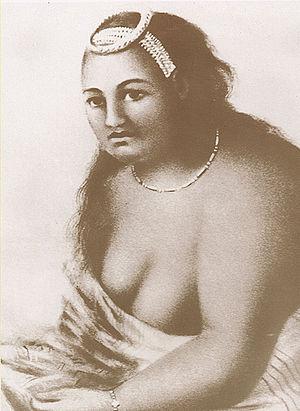 Kuhina Nui - Image: Queen Kaahumanu