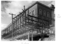 Queensland State Archives 6363 Construction of extensions to the State Library of Queensland on William St Brisbane February 1959.png
