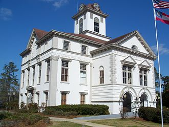 National Register of Historic Places listings in Georgia - Brooks County Courthouse