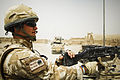 RAF Regiment Soldier on Patrol at Kandahar MOD 45150425.jpg