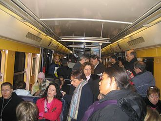 RER A - Inside an MI 84.