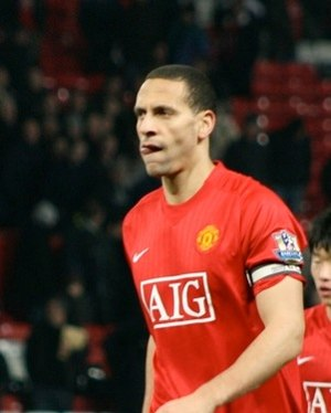 Rio Ferdinand - Ferdinand for Manchester United in 2008
