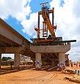 Rabah Road bridge construction, Kaduna State 03.jpg