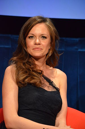 Rachel Boston - Boston at the Paley Center, in April 2012