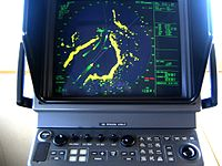 Radar ranges and bearings can be very useful navigation.