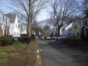 Radburn, New Jersey - A Radburn cul-de-sac