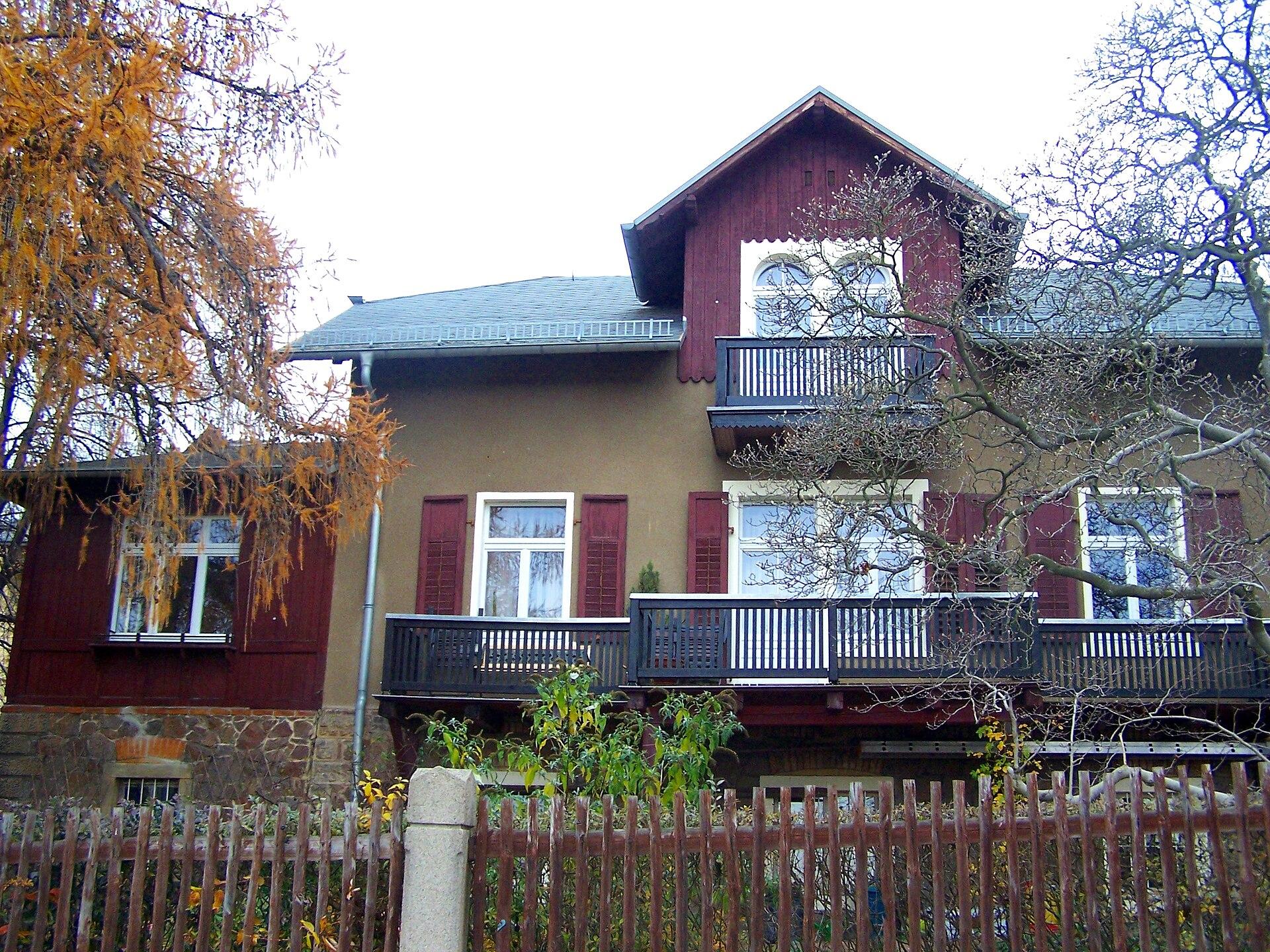 Villa friedenshain wikipedia - Architekt radebeul ...