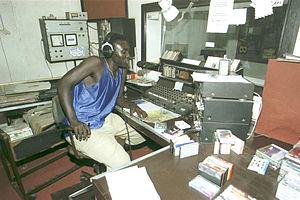 Radio Syd - Image: Radio syd 2000 studio