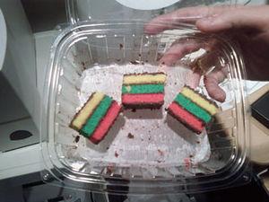 Rainbow cookie - Rainbow cookies