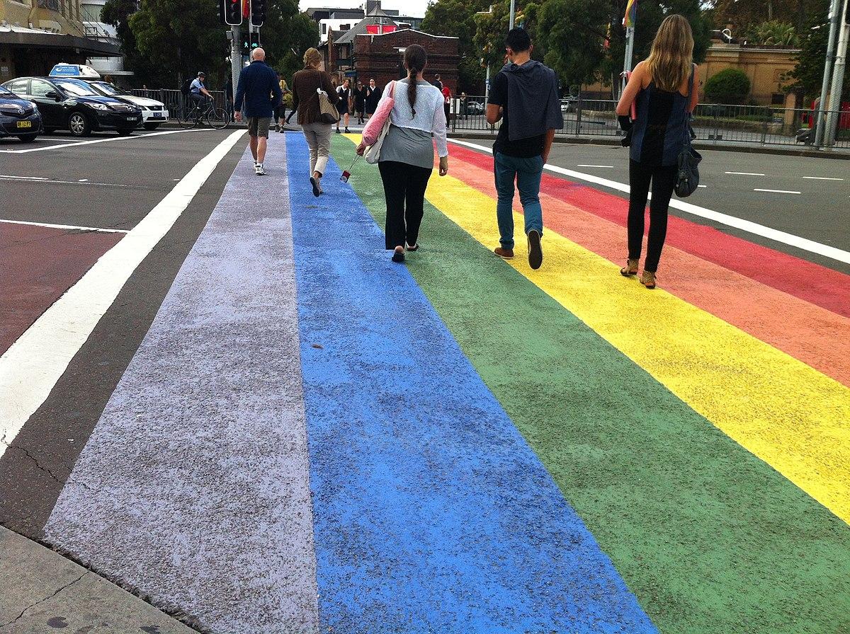 Campaign 2012 >> DIY rainbow crossing - Wikipedia