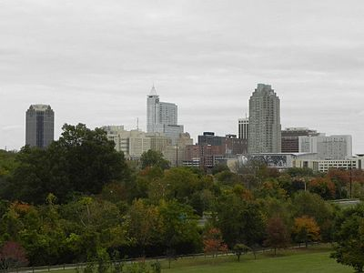 Raleigh North Carolina downtown skyline