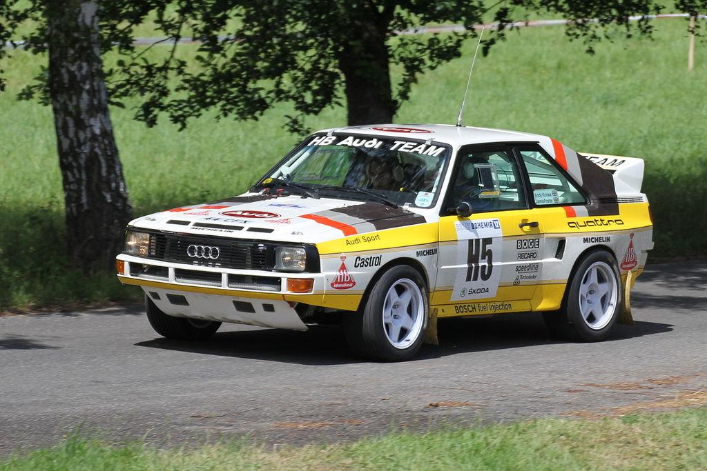 Px Rally Bohemia Historic Show C Ss Sychrov Audi Sport Quattro