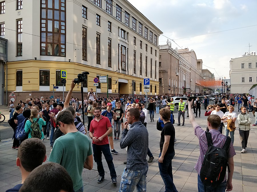 Rally against raising the retirement age (2018-09-09; Moscow) 14.jpg