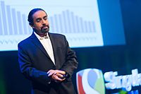 Ramez Naam at the SingularityU The Netherlands Summit 2016 (29025926993).jpg