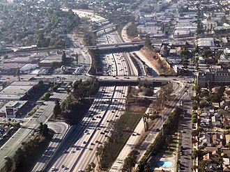 Randy's Donuts - Image: Randy's Donut LA seen from Air