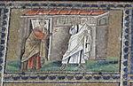 Ravenna, sant'apollinare nuovo, int., storie cristologiche, epoca di teodorico 07.1 rinnegamento di pietro.jpg