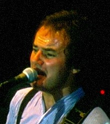Rodford performing in 1979
