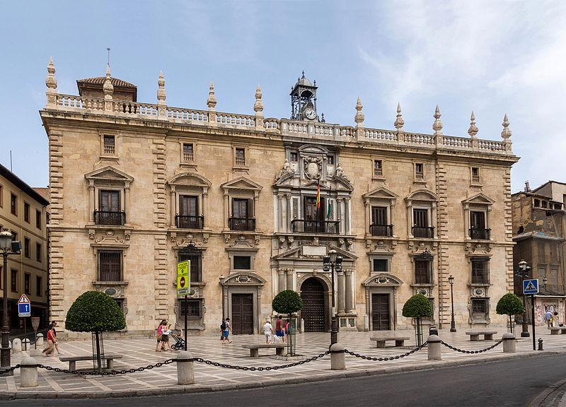 File:Real chancilleria exterior Granada Spain.jpg