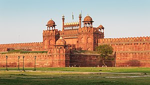 Red Fort - A view of the Red Fort