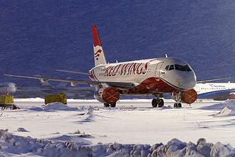 Red Wings Airlines - Former Red Wings Airlines Sukhoi Superjet 100