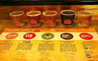 Redhook Ale Brewery - Red Hook Sample.