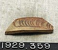 Red painted pottery fragment - YDEA - 3492.jpg
