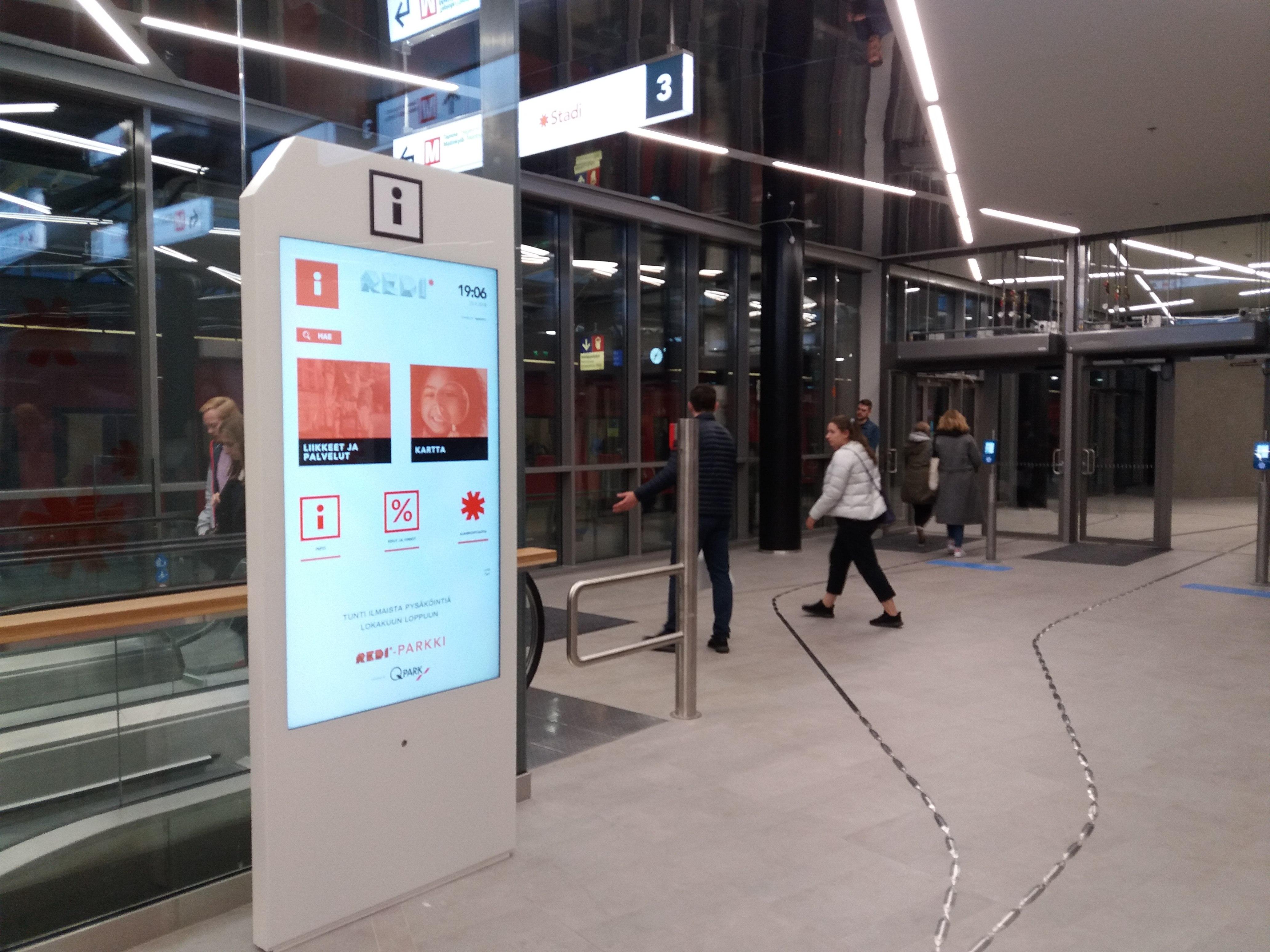 File Redista Kalasataman Metroasemalle Jpg Wikimedia Commons