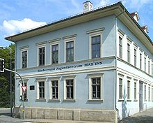 Regers Wohnhaus in Meiningen (Quelle: Wikimedia)