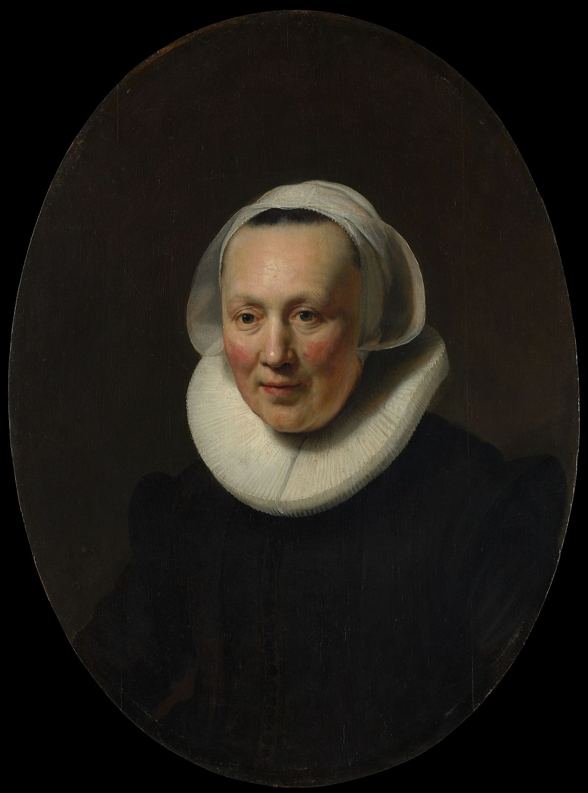 oval portrait of a woman rembrandt new york wikipedia