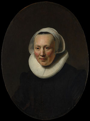 Rembrandt - Portrait of a woman - MET DP145913.jpg