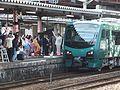 Resort-shirakami-Buna departure from Akita Station.jpg