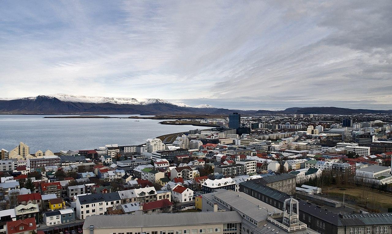 Reykjavík, ibu kota Islandia