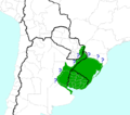 Rhabdotus group geographic range (of genus Gymnogeophagus).png