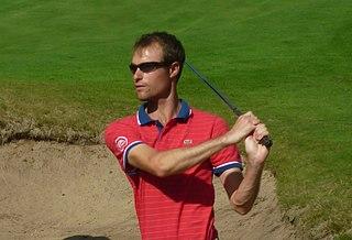 Rhys Davies (golfer) Welsh professional golfer