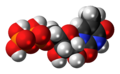 Ribothymidine diphosphate 3D spacefill.png