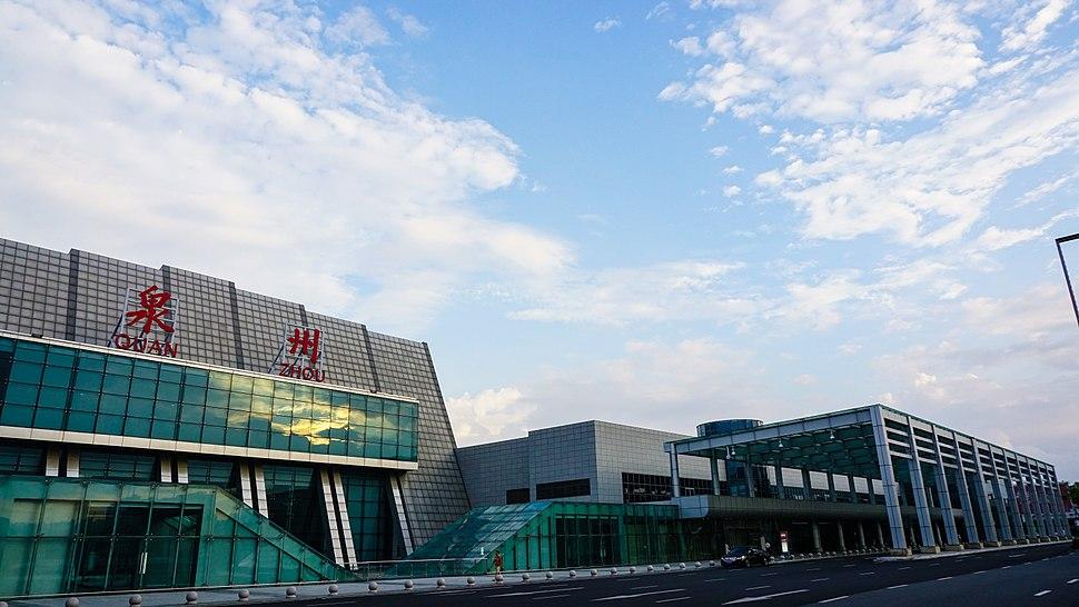 Right side of Zayton Jinjiang International airport