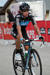 Uran Riding For Sky At The  Criterium Du Dauphine