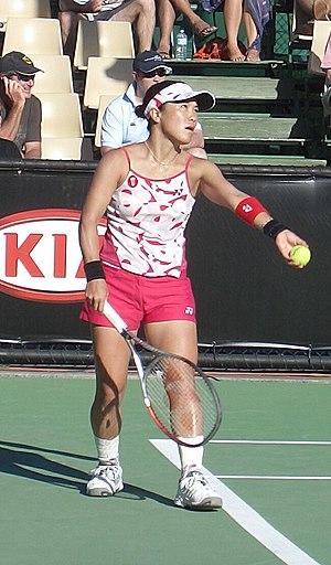 Rika Fujiwara - Fujiwara at the 2006 Australian Open