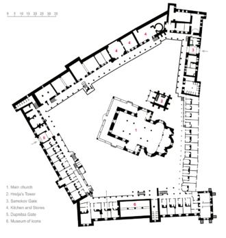 Rila Monastery plan.png