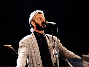 Ringo Starr - Starr performing for the Prince's Trust, Wembley Arena, London, 6 June 1987